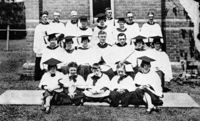 All Saints' Anglican Church Choir, c. 1928-29