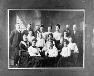 Methodist Tabernacle Choir, c.1905