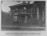 United Church Parsonage, 1926