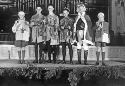 Sunday School Anniversary Play at Whitby United Church, May 8, 1938