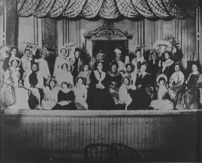 Ladies' Aid Play by St. Andrew's Presbyterian Church (Whitby), c.1914