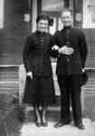 Whitby Salvation Army Sunday School Captain and Mrs. Ernest Ibbotson, 1945