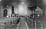 Interior of St. John's Anglican Church, 1921