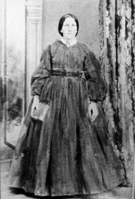 Mrs. Seth Hubbell (Rachel Almira Kellogg), (1834-1911), c.1870