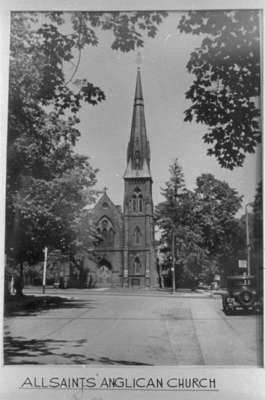 All Saints' Anglican Church, 1947