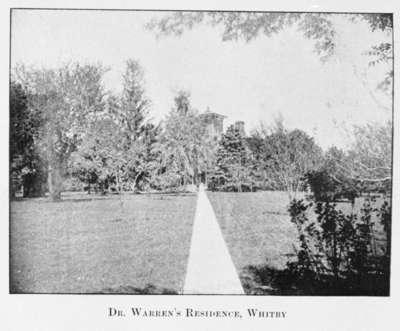 Dr. Warren's Residence, 1904