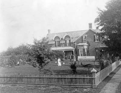 Residence of George Cormack, c.1890