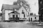 Residence of D.E. Heard, 149 Brock Street N., moved to 158 Brock N., 1928