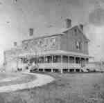 """Residence of W.H. Higgins """"The Grange"""", c.1875"""