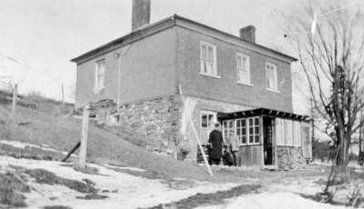 North-West Corner, Brock Street and Rossland Road, 1927