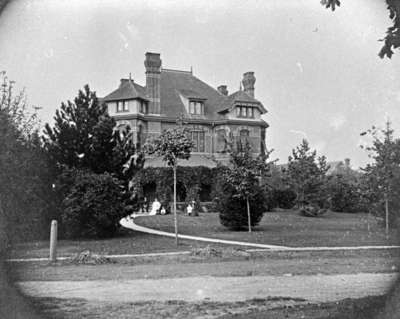 Residence of Judge Duncan J. McIntyre, c.1908
