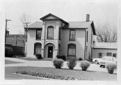 Peter Perry House, April 1981