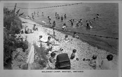 Beach at Mildmay Camp