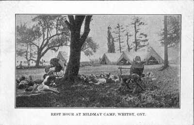 Rest Hour at Mildmay Camp
