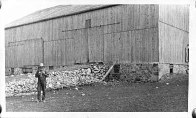 Barn on John Allin's Farm