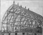Construction of Dryden Barn