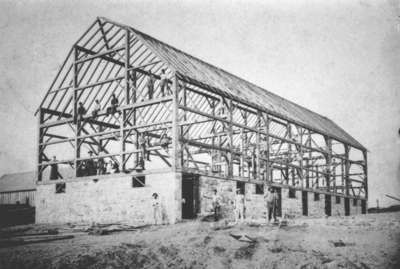Barn on William B. Tarves Farm