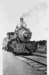 Locomotive Near Uptown Station