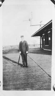 Canadian Pacific Railway Station and Official