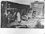 Mule Train Wreck on Canadian Pacific Railway