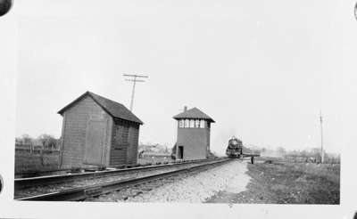 Canadian Pacific Railway Switching Tower