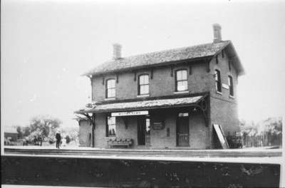 Port Whitby and Port Perry Railway Station