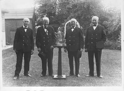 Oldest Members of Whitby Fire Department, 1939