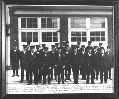 Members of the Whitby Fire Department