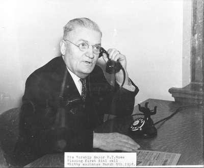 Mayor Fred Rowe