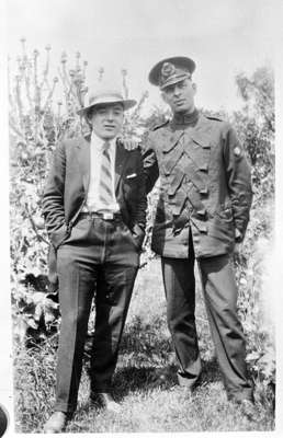 John Frost and Herbert Gunson, c.1928