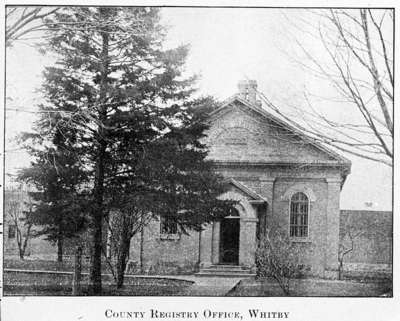 Ontario County Registry Office