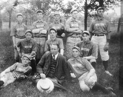 Whitby Baseball Team, 1907