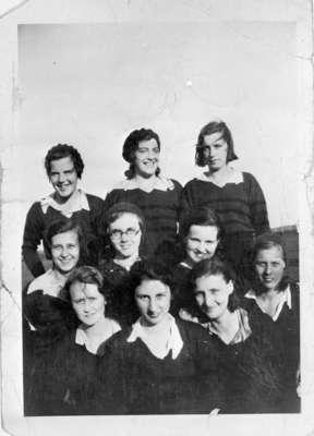 Dr. John H. McKinney's Girls Baseball Team