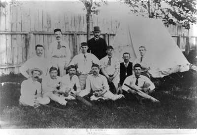Whitby Cricket Club, c.1888