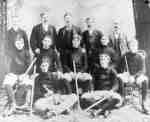 Whitby Senior Hockey Team, 1897-98