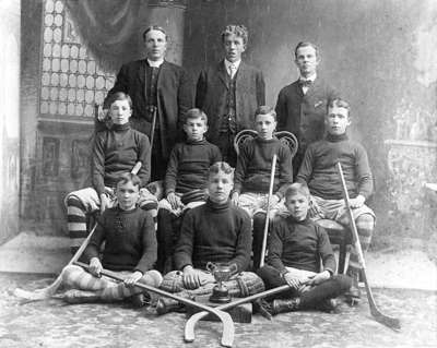 All Saints Anglican Church Hockey Team