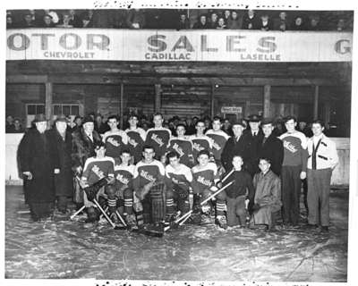"Whitby All Ontario Juvenile ""B"" Champion Hockey Team"