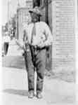 Leslie Moore on Dundas Street, c.1912