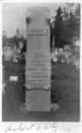 Gravestone of Sylvester Lynde