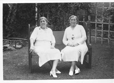 75th Birthday for Harriet and Mary Esther Pringle