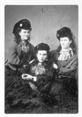 Daughters of John and Catherine Dow