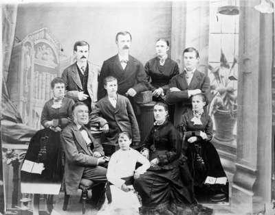 Family of David Mathison