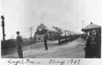 Royal Train at Canadian Pacific Railway Station, May 1939