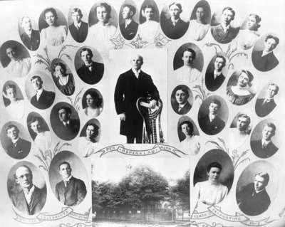 Whitby Collegiate Institute Graduates of 1907