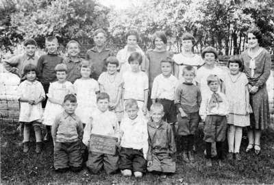 Spencer School Class, 1930