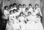 Girls from Whitby Collegiate Institute, 1902
