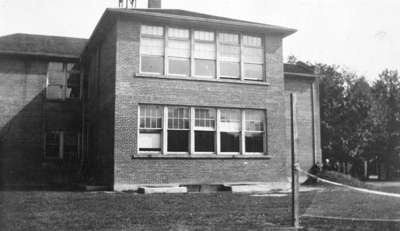 Rear View of Whitby Collegiate Institute