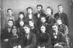 Senior Class at Whitby Grammar School, c.1870-1871