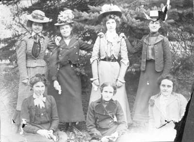 Group of Girls from Whitby