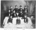 Girls from Whitby Collegiate Institute, 1885